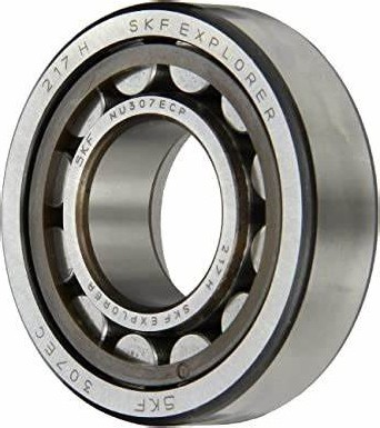 CG STAR NU 207 ECJ cylindrical roller bearing Motorcycle bearing
